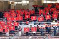 【高校サッカー選手権3回戦PHOTO】昌平3-0創成館|創成館の関係者席|写真:窪田亮