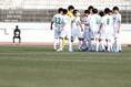 【高校サッカー選手権3回戦PHOTO】昌平3-0創成館|円陣を組む昌平|写真:窪田亮