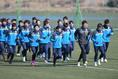 【湘南ベルマーレPHOTO】湘南が今シーズン初練習を行った 写真:金子拓弥(サッカーダイジェスト写真部)