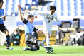 【PHOTO】川崎U-18 2-1日本高校サッカー選抜|浅岡飛夢(左)と崎山友太|写真:金子拓弥(サッカーダイジェスト写真部)