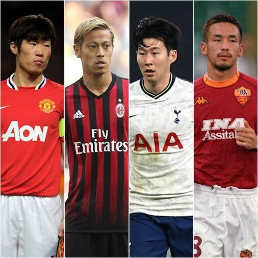 「史上最高のアジア選手トップ20」を英メディアが選出!