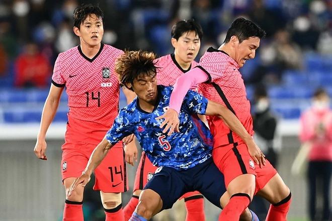 腹が立ったよ、日本に押し込まれて…」韓国代表の左SBが惨敗に終わった ...