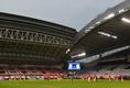 試合会場のノエビアスタジアム神戸|写真:金子拓弥(サッカーダイジェスト写真部/JMPA代表撮影)