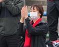 【PHOTO】札幌サポーター。写真:田中研治