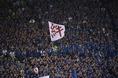 ロシア・ワールドカップへ向けた最初の戦いとなるシンガポール戦には多くのサポーターが詰めかけた。写真:小倉直樹(サッカーダイジェスト写真部)
