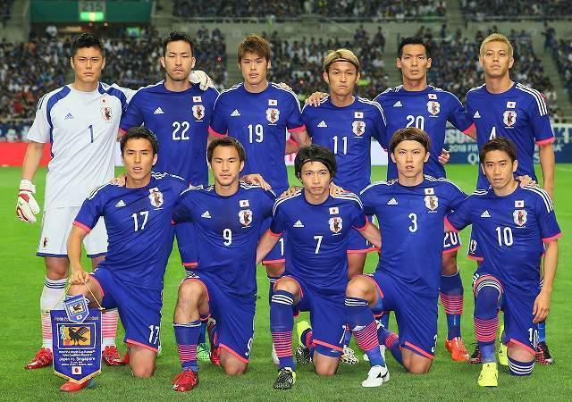 日本代表がワールドカップ予選で...