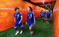 [GL第1戦/日本 1-0 スイス]ワールドカップ初戦、スタメン起用された澤は国際Aマッチ200試合出場を達成。キャプテンの宮間は150試合出場を達成した。(C) Getty Images